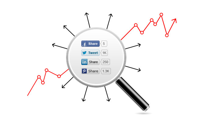 Social plugins on your site help you increase traffic