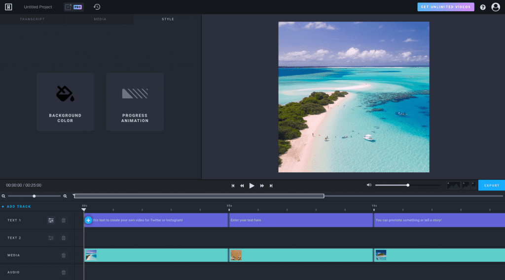 headliner video editor