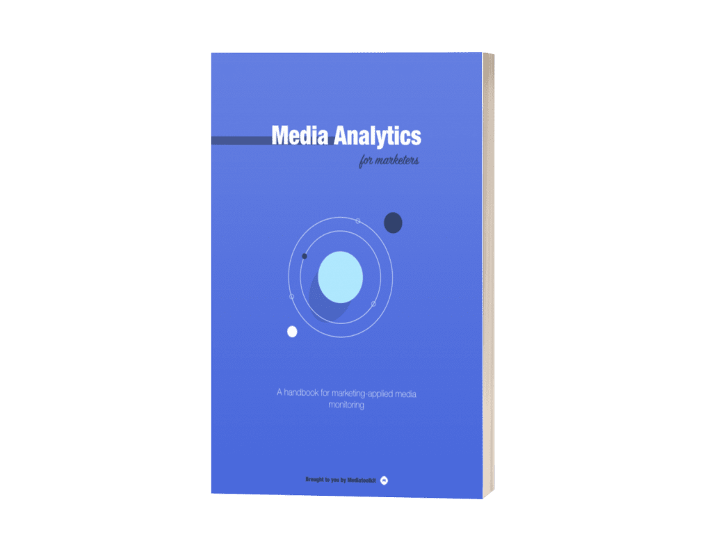 Media analytics for marketers ebook cover